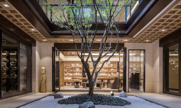 功能性十足的中國風別墅