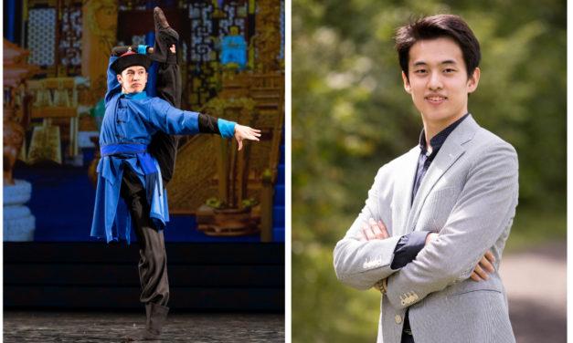 心豁而行 舞綻豪情 </br>——專訪神韻藝術團領舞演員小林健司