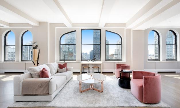 麥迪遜廣場花園項上榮冕 尊爵頂層複式公寓