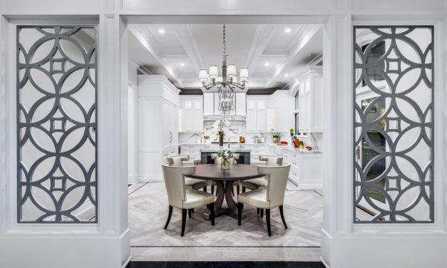 中西合璧 輕古典廚房設計
