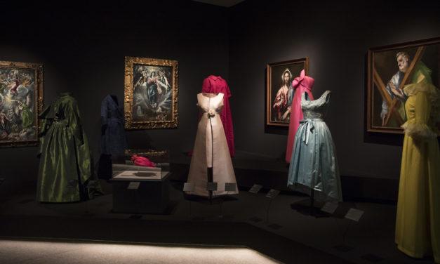 畫外之「衣」 時裝元祖巴黎世家與西班牙藝術的火花