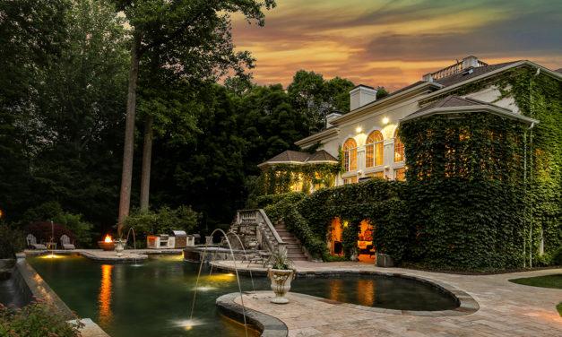 紐約近郊  隱落大自然的歐風別墅
