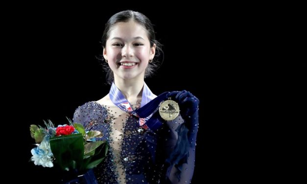 荳蔻少女的華麗迴旋</br>——專訪花式滑冰運動員劉美賢
